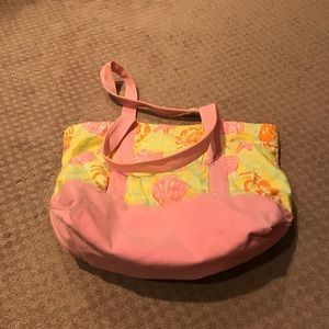 Lily Pulitzer canvas bag